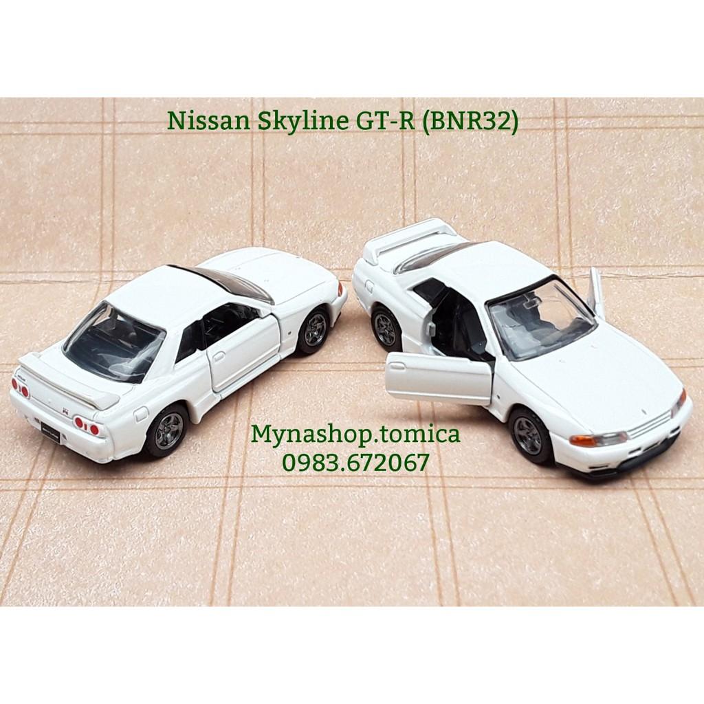 Xe mô hình tomica premium - Nissan Skyline GT-R (BNR32) (màu trắng)