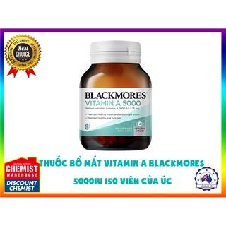 Thuốc bổ mắt Vitamin A Blackmores 5000IU 150 Viên Của Úc