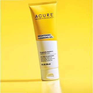 Sữa rửa mặt Acure brightning cleansing gel 118ml tẩy tế bào chết tẩy trang làm sáng da