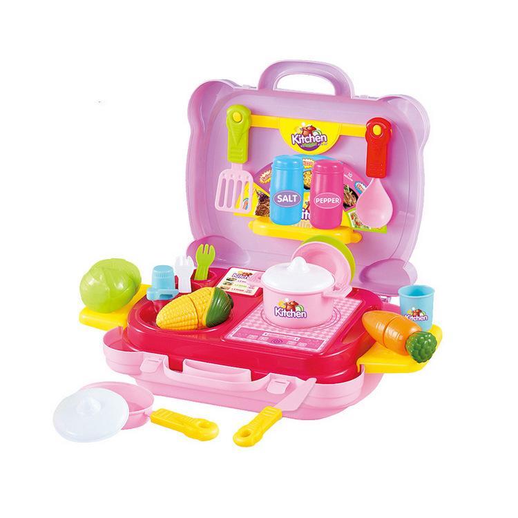 set 2 đồ chơi nấu ăn cho bé