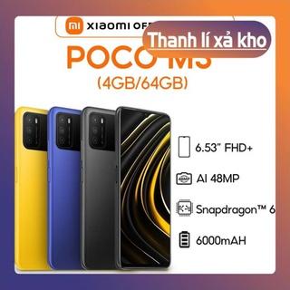 [ Free Ship - Thanh lý ] Điện thoại Xiaomi POCO M3 (4 128GB) Pin khủng 6000mAh- Nguyên Hộp Mới 100% thumbnail