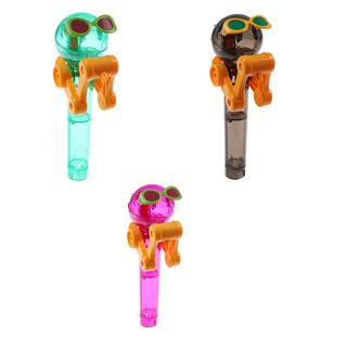 Lollipop holder decompression toys lollipop robot dustproof creative