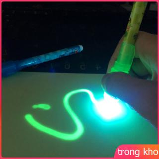 PVC A4 Draw with Light in Dark Children Kids Toy Luminous Drawing Board Sketchpad Set Gift