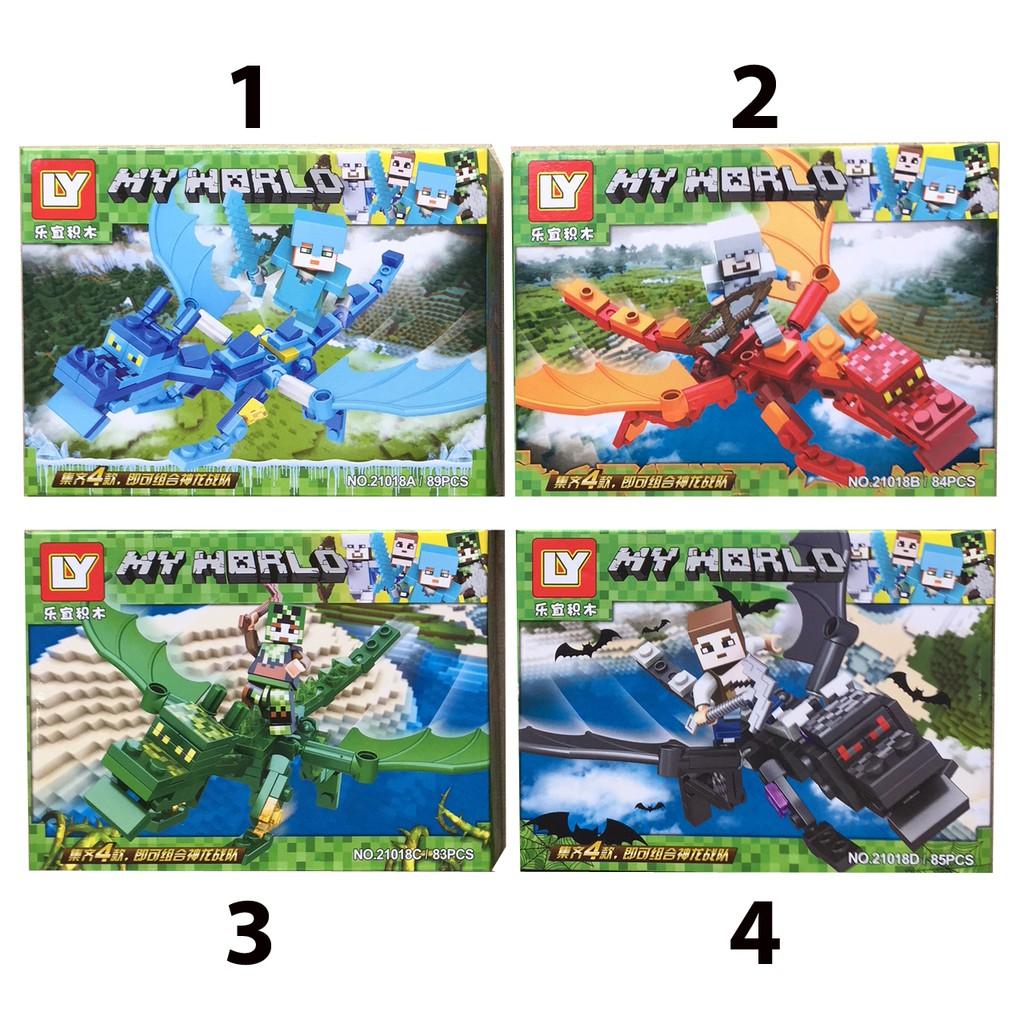Lego xếp hình My World MineCraft 83 -89 pcs - 3289392 , 1129144304 , 322_1129144304 , 55000 , Lego-xep-hinh-My-World-MineCraft-83-89-pcs-322_1129144304 , shopee.vn , Lego xếp hình My World MineCraft 83 -89 pcs