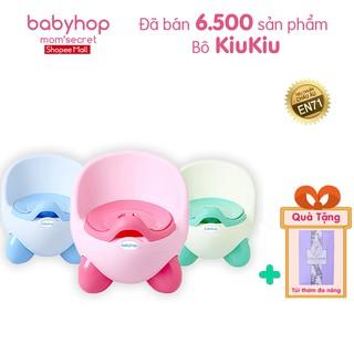 Bô cho bé Kiu Kiu Babyhop phù hợp với trẻ em 6 tháng đến 5 tuổi chống trơn trượt có chỗ dựa và khay màu patel Hàn Quốc thumbnail