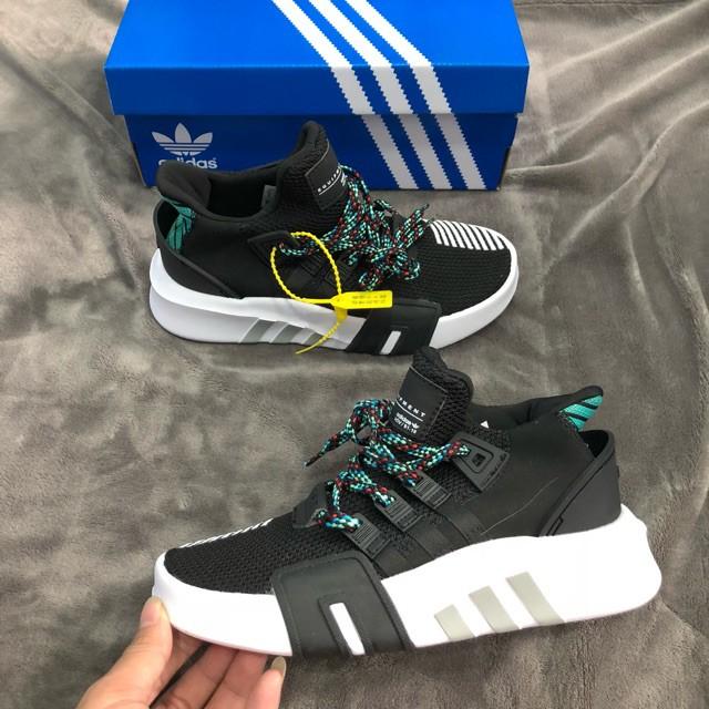 🎁FULL BOX🎁 Giày Sneaker EQT Đen Xanh