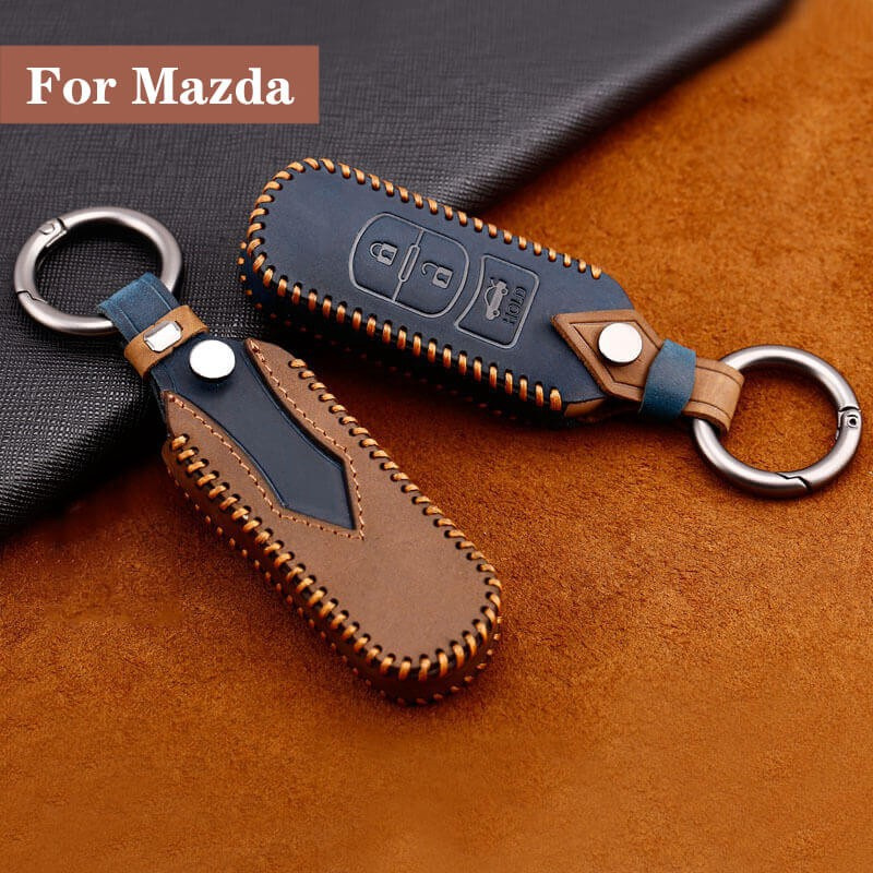 Bao da bảo vệ chìa khóa xe hơi Mazda chuyên dụng CX5 Mazda 3 Mazda 6