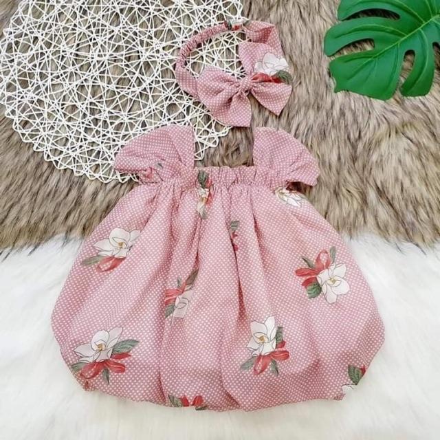 7935171116 - Set đầm hồng