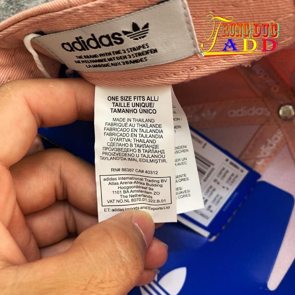 Mũ Lưỡi Trai Adidas Full Tag Code Màu Hồng Đất Cực Độc Siêu Dễ Thương Form Cứng Cáp Trungducadidas