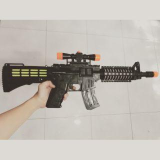 [ Tặng Pin] Đồ chơi súng cho trẻ em năng động có video minh họa