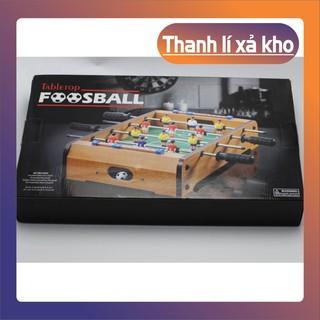 {Ưu Đãi Khủng} Bộ đồ chơi bàn bi lắc đá bóng bằng gỗ cho bé–4035 [Hàng Xịn]