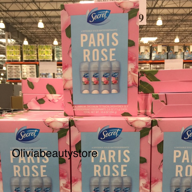 Lăn khử mùi Secret Clear Gel-Paris Rose (73g)