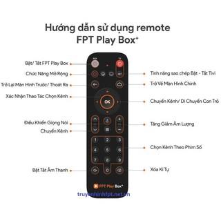 Điều Khiển FPT Play Box Sử Dụng Giọng Nói Dùng Cho Các Dòng Box 2017 2018 2019 2020