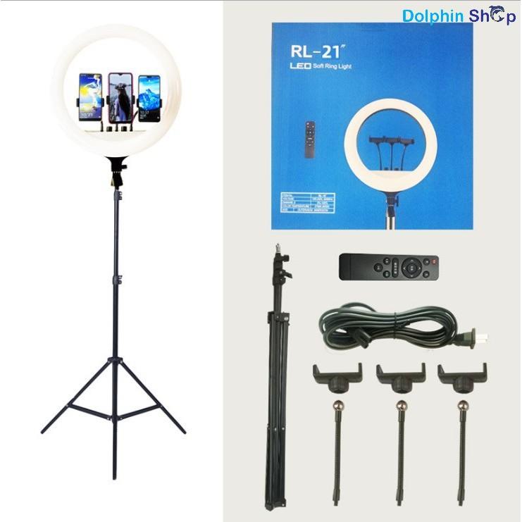[Size Lớn Nhất 54cm] Đèn Livestream size 54cm (21inch) Dành cho Livestream Bán Hàng, Makeup, Phun Xăm