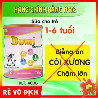 Sữa Bột Cho Trẻ Từ 1-6 Tuổi DUMI DREAM ( 400g ) (Hàng chính hãng công ty NCT3 ) thumbnail