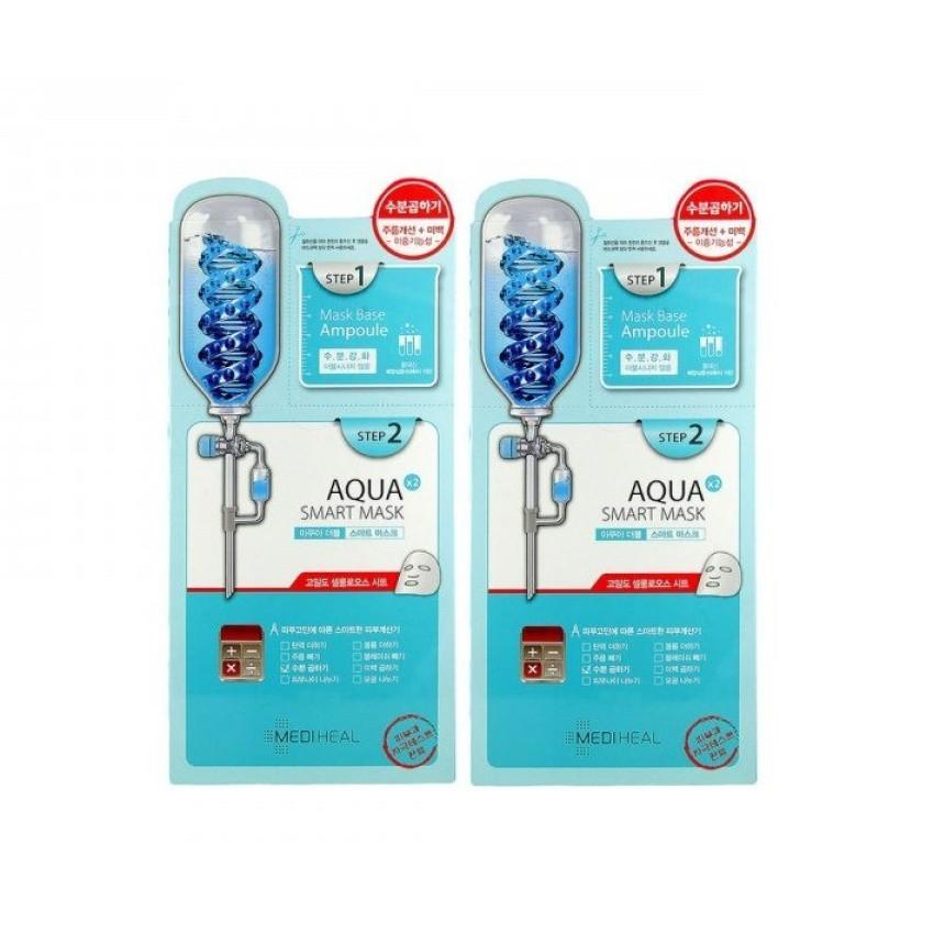 [Phân phối chính thức Mediheal VN] Bộ 2 gói Mặt nạ 2 bước dưỡng ẩm sâu Mediheal Aqua Double Smart Fi - 3146355 , 213357747 , 322_213357747 , 170000 , Phan-phoi-chinh-thuc-Mediheal-VN-Bo-2-goi-Mat-na-2-buoc-duong-am-sau-Mediheal-Aqua-Double-Smart-Fi-322_213357747 , shopee.vn , [Phân phối chính thức Mediheal VN] Bộ 2 gói Mặt nạ 2 bước dưỡng ẩm sâu Mediheal A