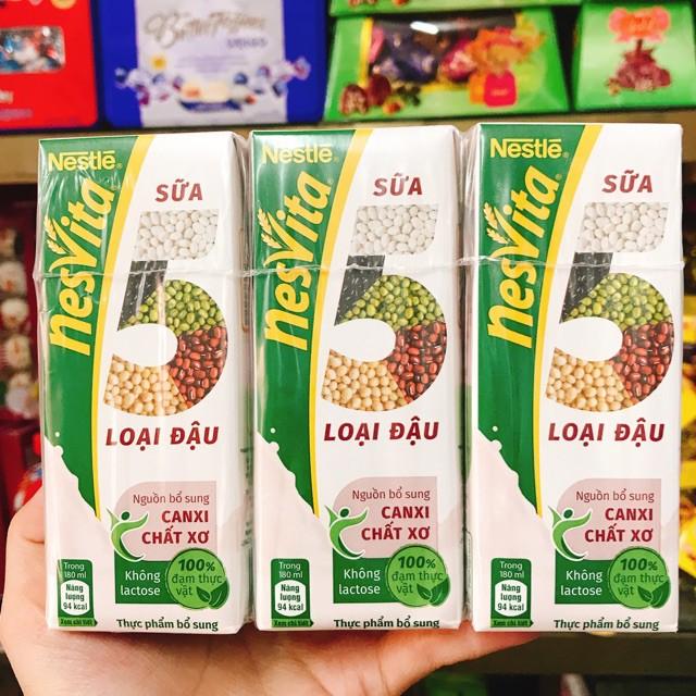 Sữa Nestlé Nesvita 5 Loại Đậu