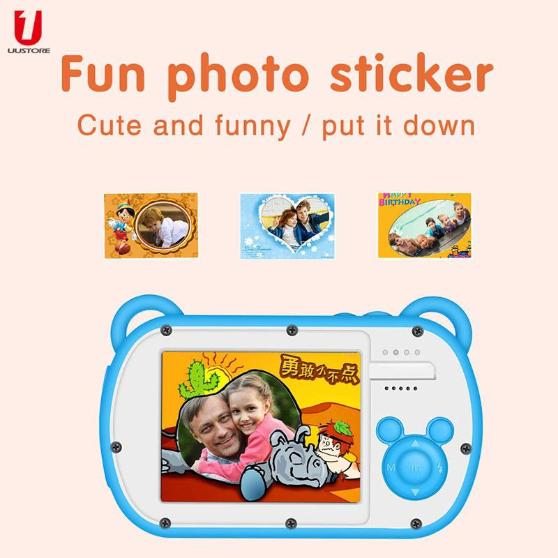 FT Mini Fun Kids Camera Photography Digital Video Camera 8X Digital Zoom