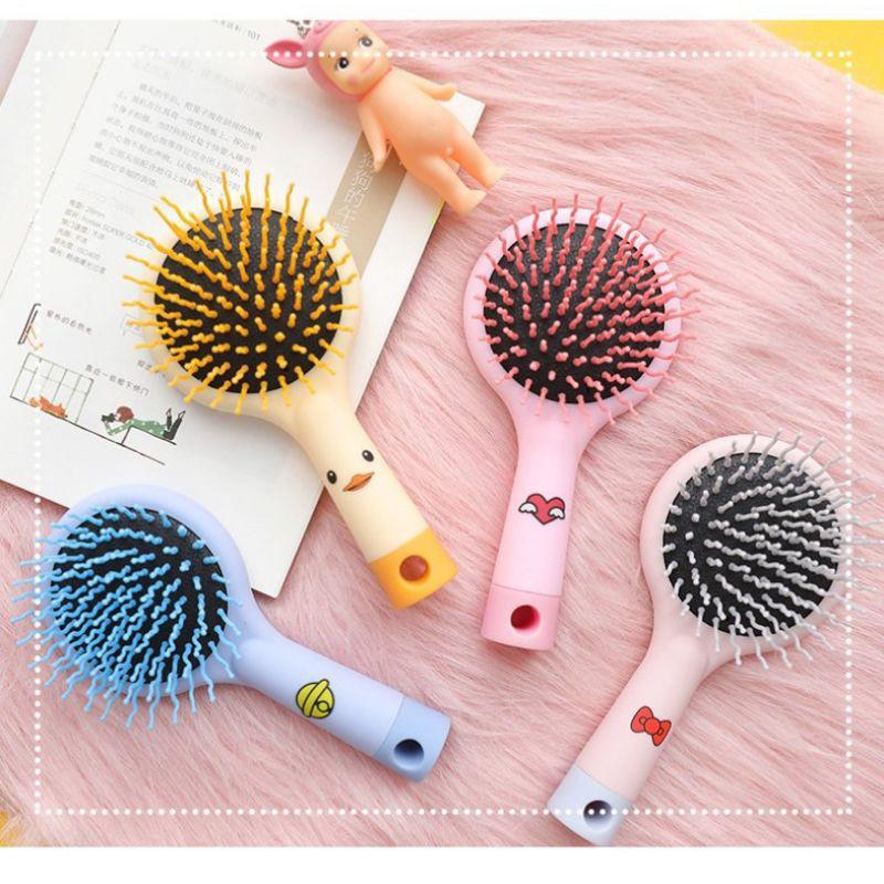 Lược [MẪU MỚI] Massage Da Đầu Kèm Gương Phía Sau Tiện Lợi BiTi Store LCG123