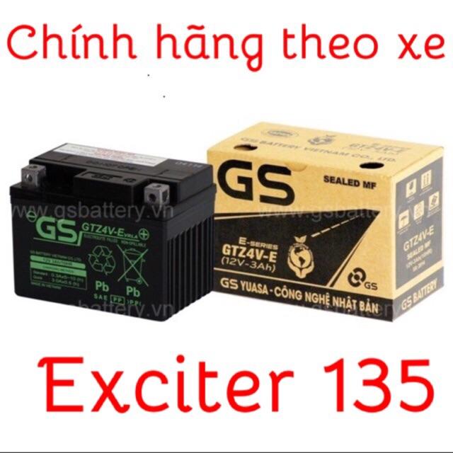 Ắc quy xe Exciter 135 chính hãnh GS mQshop - 3053893 , 377403544 , 322_377403544 , 275000 , Ac-quy-xe-Exciter-135-chinh-hanh-GS-mQshop-322_377403544 , shopee.vn , Ắc quy xe Exciter 135 chính hãnh GS mQshop