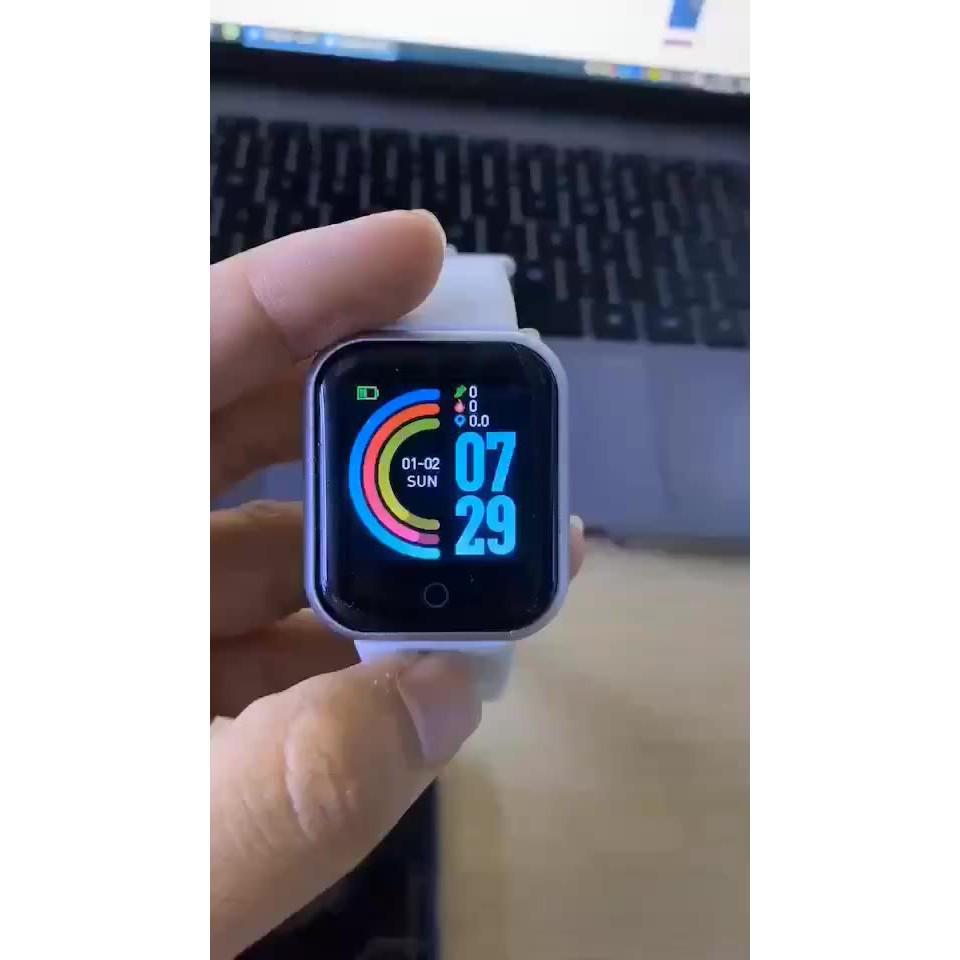 Đồng Hồ Đeo Tay Thông Minh Y68 Theo Dõi Sức Khỏe D20 Pro