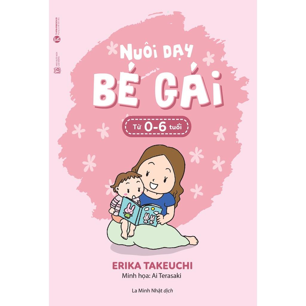 Sách - Nuôi dạy bé gái - từ 0 đến 6 tuổi