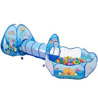 Nhà bóng chui ống 3 khoang đại dương xanh BBT Global 1384 thumbnail