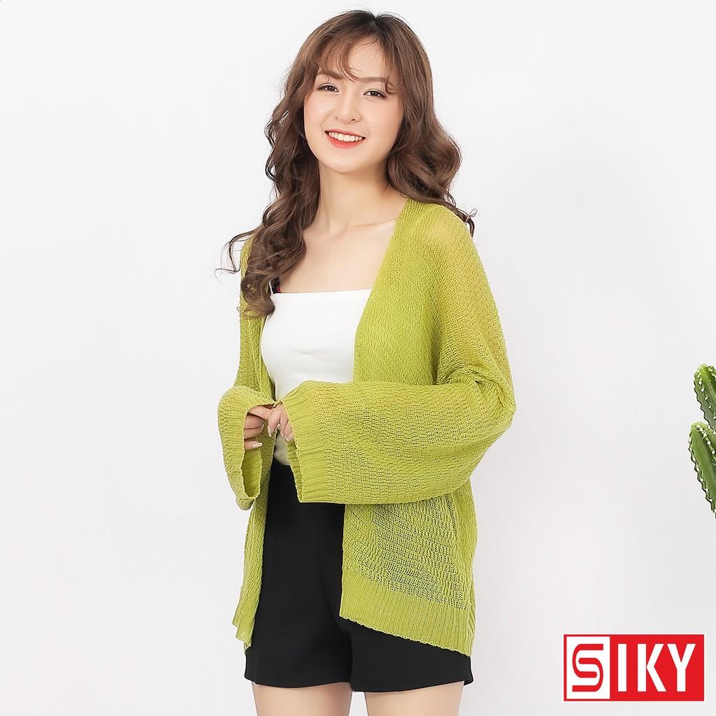 Áo Cadigan len mỏng phong cách Hàn Quốc-AL-02