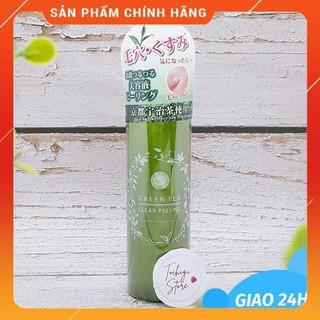 Gel tẩy da chết trà xanh Santa Marche Green Tea Clear Peeling Nhật Bản 200ml thumbnail