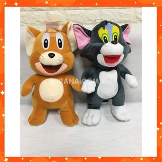 Gấu Bông Mèo Và Chuột . –