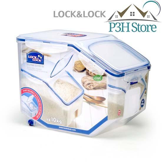 Thùng gạo 10Kg Lock&Lock HPL510