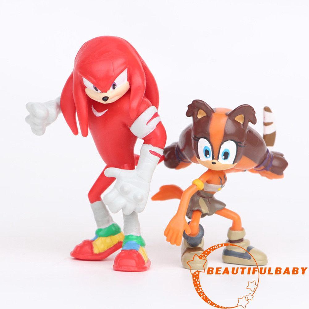 Bộ 6 Mô Hình Nhân Vật Trong Sonic The Hedgehog