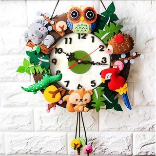 Creative Handmade Clock Kids Toys DIY Educational Toys Xmas Gifts