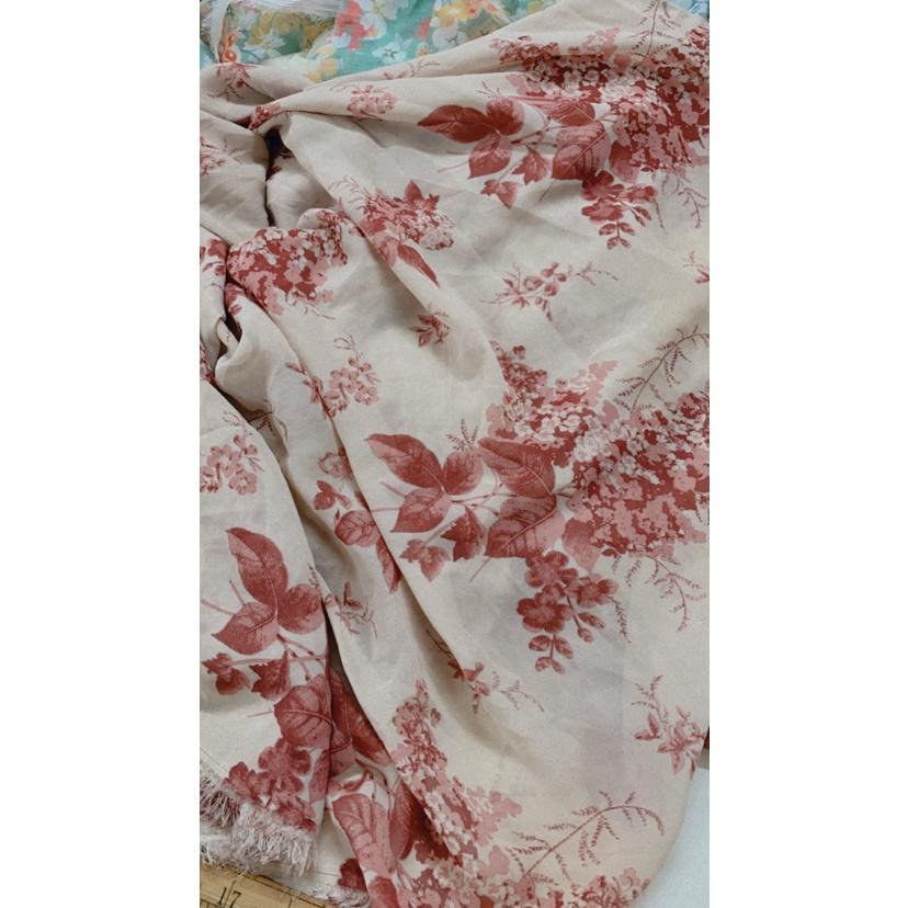 Vải Voan may mặc - dòng vải thông dụng - khổ 1M5 - vải lót may mặc