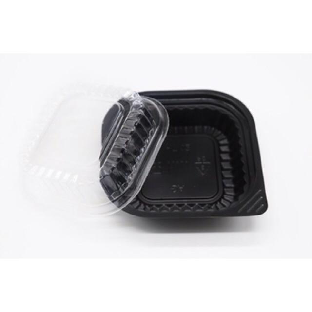 100 cái hộp nhựa đựng salad thức ăn hoa quả HT12