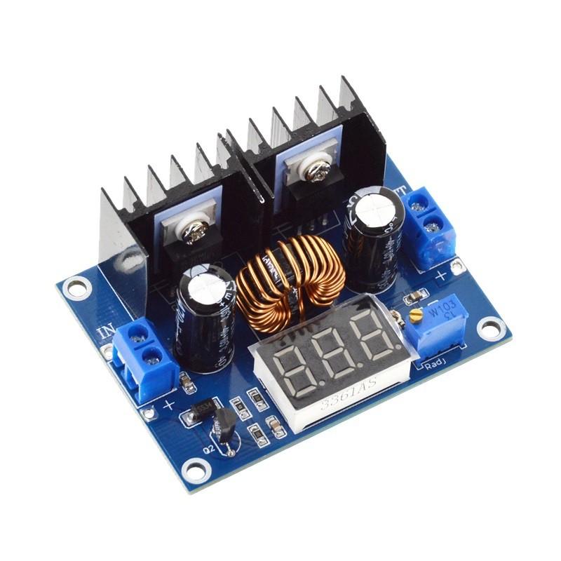 Mạch nguồn hạ áp DC-DC 8A XL4016 ADJ (mini) - có LED - 9999782 , 495010399 , 322_495010399 , 80000 , Mach-nguon-ha-ap-DC-DC-8A-XL4016-ADJ-mini-co-LED-322_495010399 , shopee.vn , Mạch nguồn hạ áp DC-DC 8A XL4016 ADJ (mini) - có LED