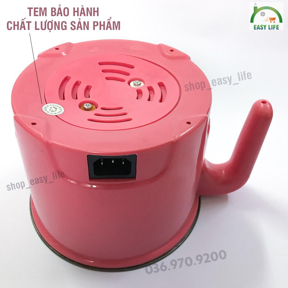 Nồi Nấu Mì Mini Ruột Inox 1.6L có giá hấp đa năng