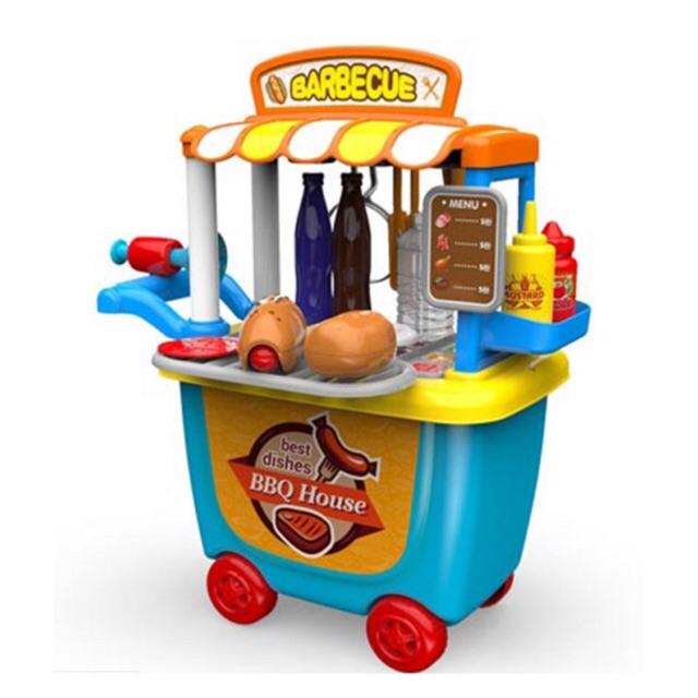 Bộ đồ chơi quầy bán đồ ăn nhanh Bowa