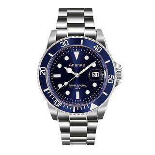 Đồng hồ nam ANANKE viền xoay toạ độ, kim dạ quang - Mã số: DH1816