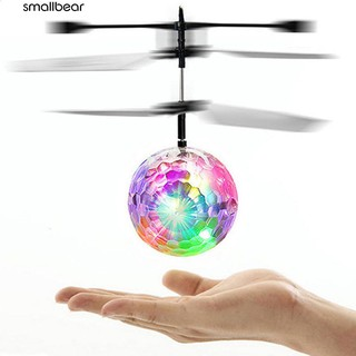 💮🐬RC Fly Ball Infrared Induction Aircraft Flash LED Light Remote Plane Toy