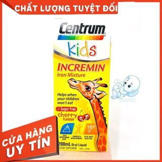 [HÀNG CHÍNH HÃNG] Siro Cho Trẻ Biếng Ăn Centrum Kids Incremin Iron Mixture Của Úc 200ml thumbnail