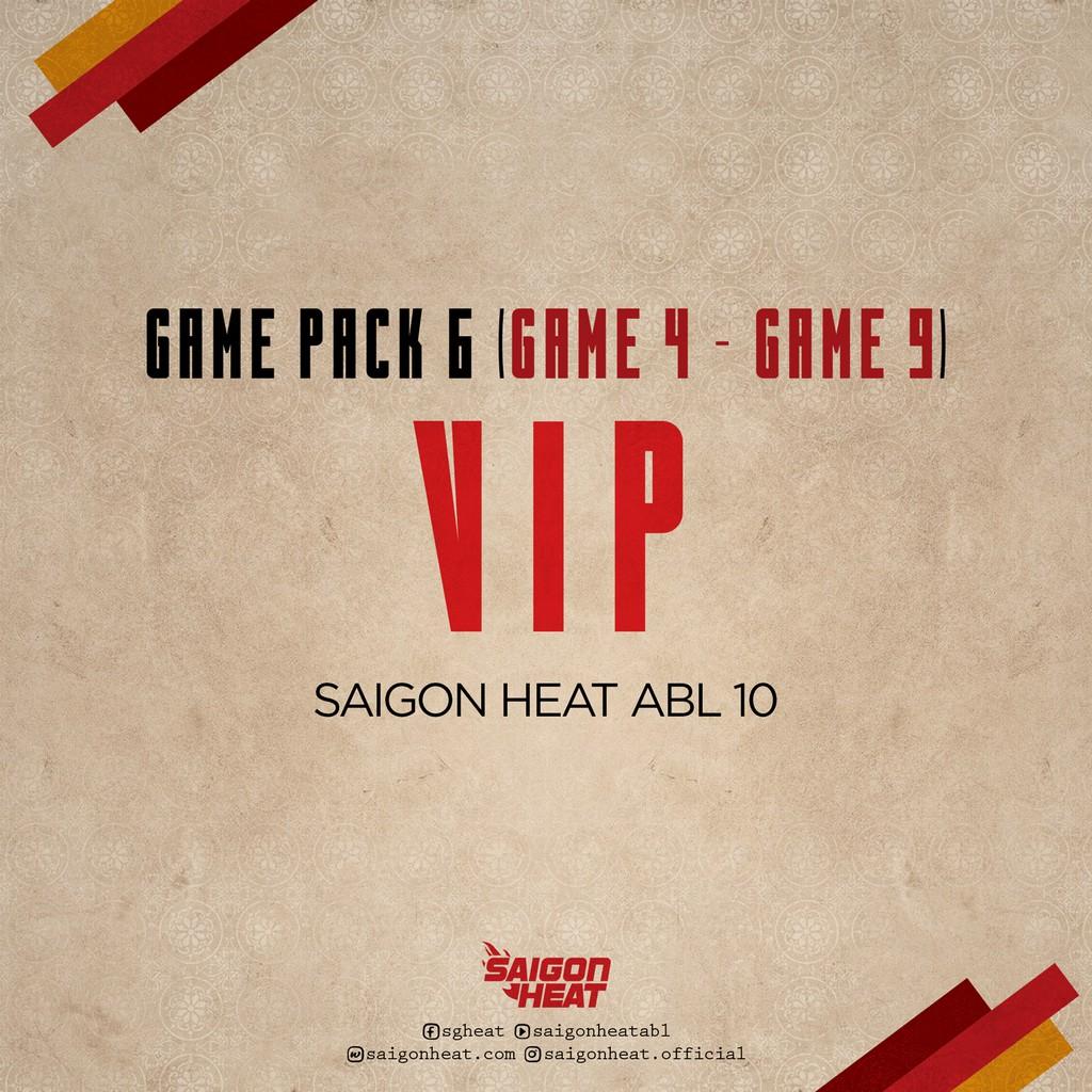 E-Voucher-Vé tham dự giải bóng rổ ABL loại GAME PACK 6 - Hạng Vip - Trận đấu 4 - 9 - Hồ Chí Minh