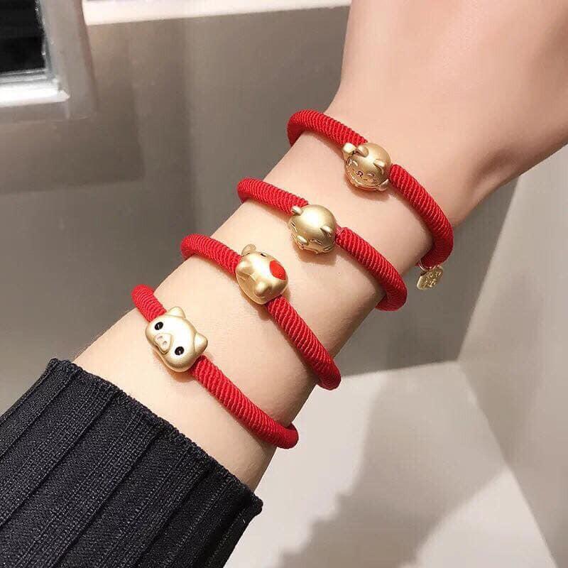 Chun tóc dây đỏ may mắn | Vòng đeo tay kèm mặt dây thời trang - 14710869 , 1997218189 , 322_1997218189 , 19000 , Chun-toc-day-do-may-man-Vong-deo-tay-kem-mat-day-thoi-trang-322_1997218189 , shopee.vn , Chun tóc dây đỏ may mắn | Vòng đeo tay kèm mặt dây thời trang