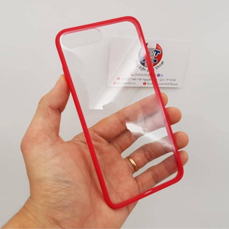 Ốp lưng trong suốt viền màu iSmile siêu mỏng IPhone 8 Plus / 8/ 7 Plus / 7 - 2632635 , 1321300636 , 322_1321300636 , 120000 , Op-lung-trong-suot-vien-mau-iSmile-sieu-mong-IPhone-8-Plus--8-7-Plus--7-322_1321300636 , shopee.vn , Ốp lưng trong suốt viền màu iSmile siêu mỏng IPhone 8 Plus / 8/ 7 Plus / 7