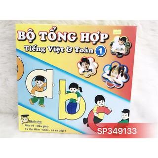Hộp Bộ tập đọc chữ & số tiếng Việt tổng hợp-SP349133