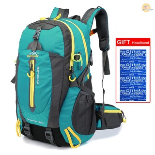 TOP 40L Water Resistant Travel Backpack Camp Hike Laptop Daypack Trekking Climb Back Bags For Men Women