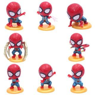 [SIÊU PHẨM] Bộ 8 người nhện Spiderman Siêu độc – Hàng chuẩn – Đẹp