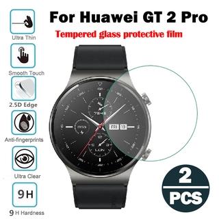 Bảo vệ màn hình Đồng hồ thông minh Huawei Watch GT 2 Pro Kính cường lực chống xước 2PCS 2.5D 9H