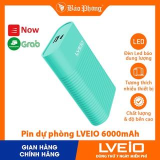 [Mã 2404EL10K giảm 10K đơn 20K] Pin sạc dự phòng LVEIO A30 dung lượng 6000mAh