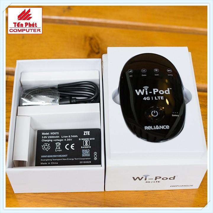 Bộ Phát Wifi Không Dây 4g Wi-pod 4G LTE Tốc Độ Cao